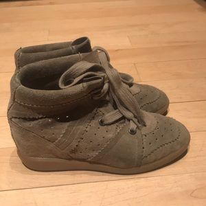 "Authentic Isabel Marant ""Bobby"" platform sneakers"